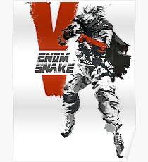 MGSV Retro Venom Snake Poster