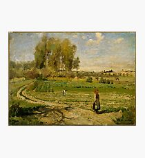 Camille Pissarro - Giverny French Impressionism Landscape Photographic Print