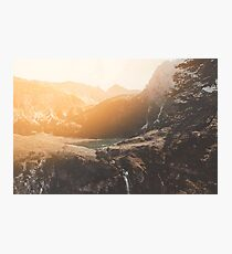 Is this real landscape photography Photographic Print