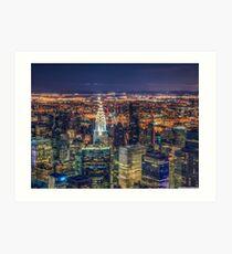 Lámina artística In new york
