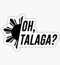Oh, Talaga? Sticker