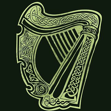 Celtic Harp by celthammerclub