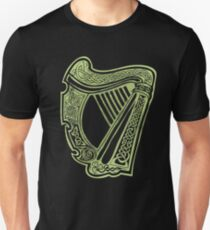 Celtic Harp Unisex T-Shirt