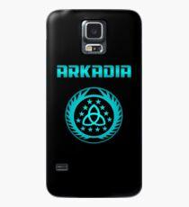 Arkadia Logo Hülle & Klebefolie für Samsung Galaxy