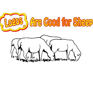 Logos are Good for Sheep White by Grooveworks
