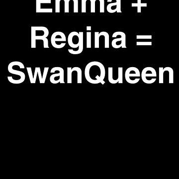 Emma + Regina = SwanQueen by LilacFoxDesigns