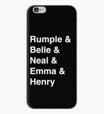 Rumple & Belle & Neal & Emma & Henry iPhone Case