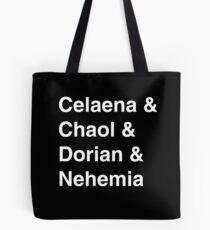 Celaena & Chaol & Dorian & Nehemia Tote Bag