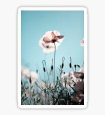 Summer Poppy Sticker