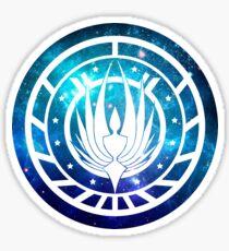 Battlestar Galactica Colonial Seal Sticker