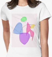 Human Body Women's Fitted T-Shirt