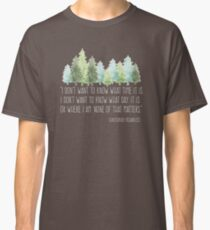 Into the Wild with Christopher McCandless Classic T-Shirt