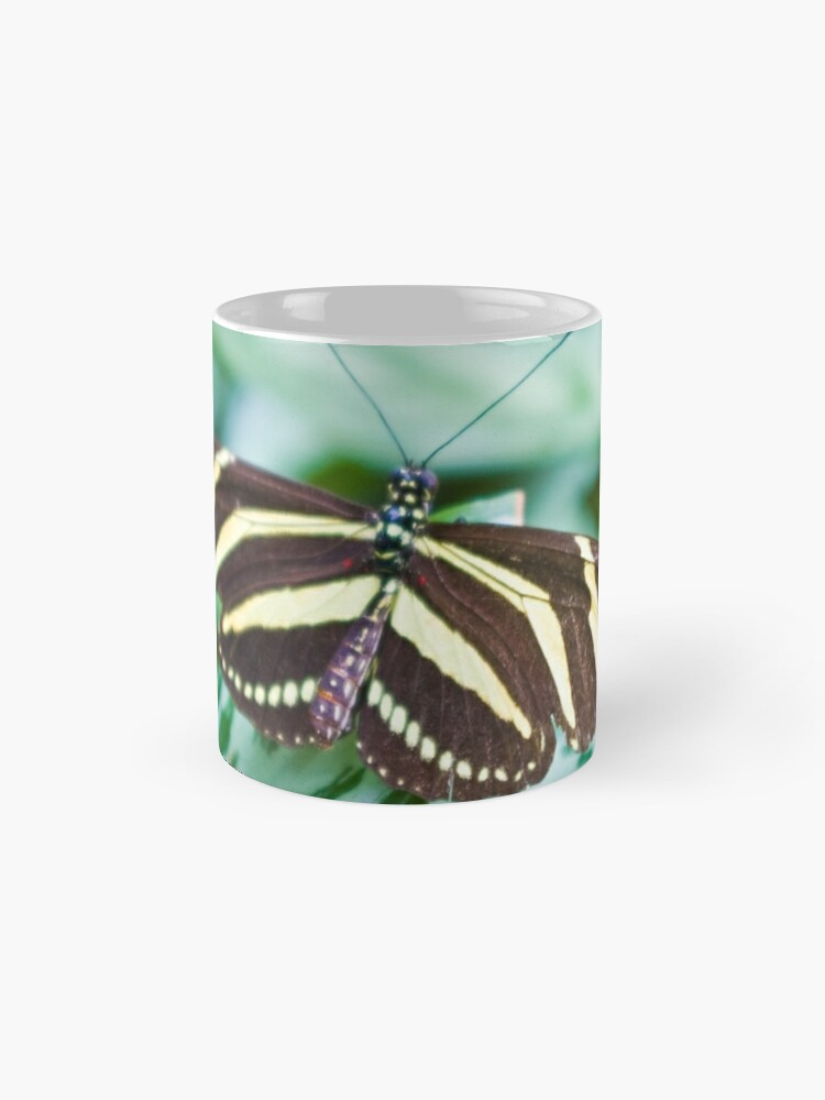 Alternate view of Black and yellow butterfly Mug