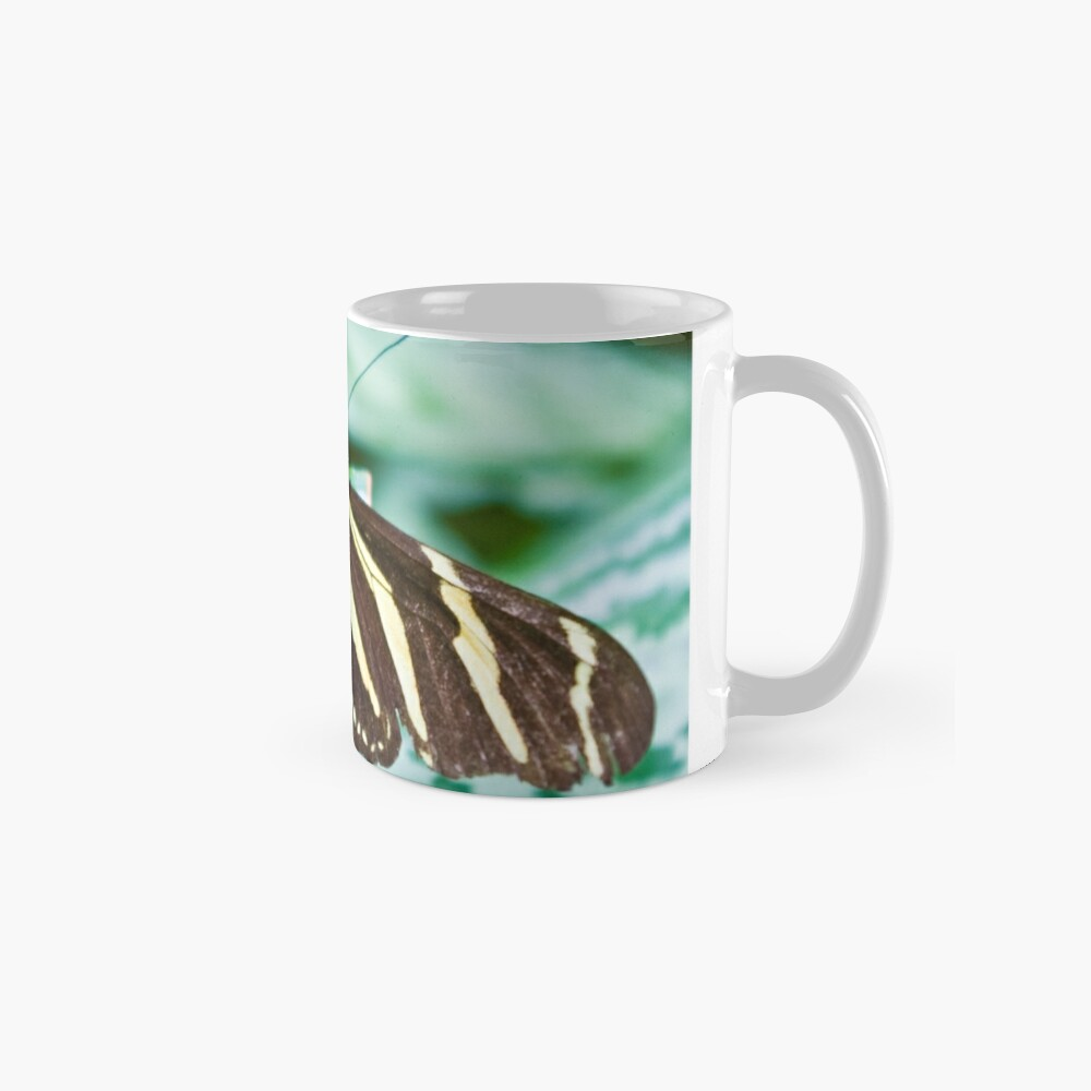 Black and yellow butterfly Mug