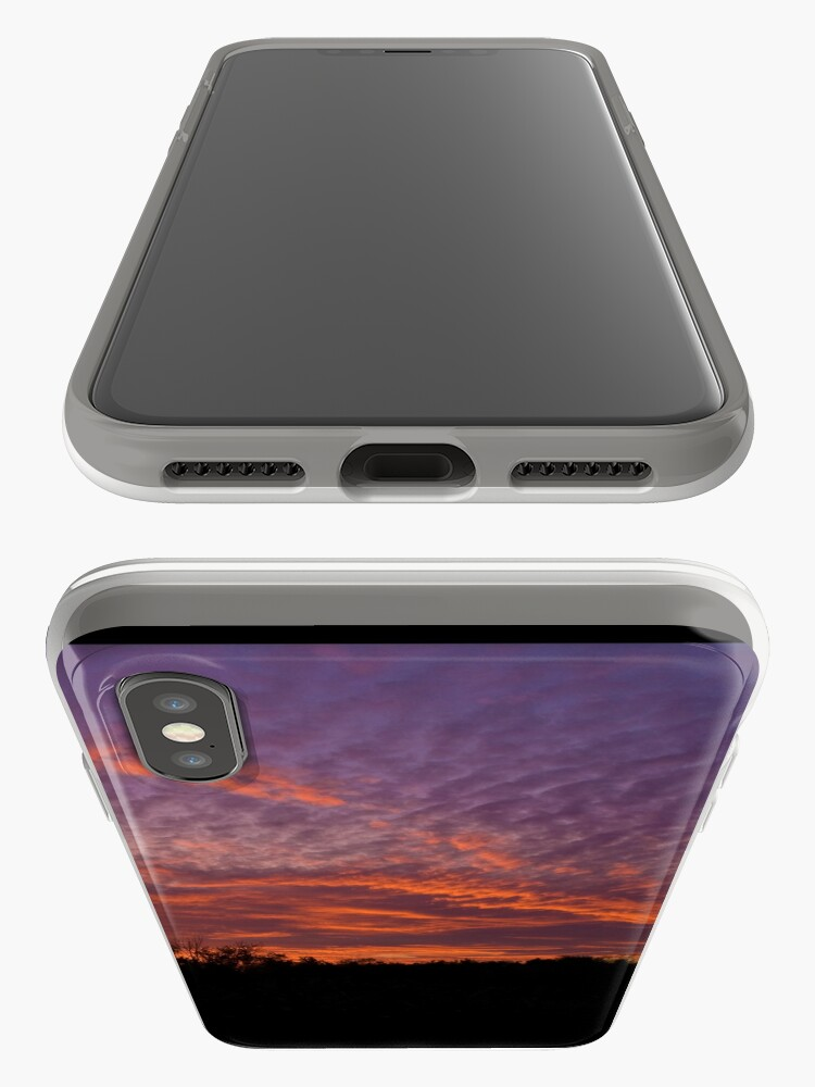 Alternate view of Red sky iPhone Case & Cover