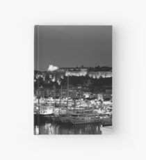 Monaco palace and bay Hardcover Journal