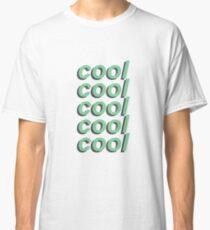 """Cool"" Green Classic T-Shirt"