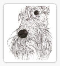 Scottie Sketch Sticker