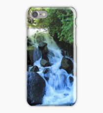 Small Waterfall and Rocks iPhone Case/Skin