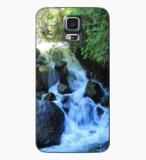Small Waterfall and Rocks Case/Skin for Samsung Galaxy