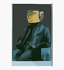 the classiest robot  Photographic Print