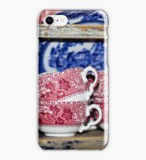 Oldfashioned Tableware - Macro Photography iPhone Case/Skin