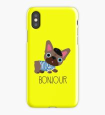 Bonjour little Frenchie! iPhone Case/Skin