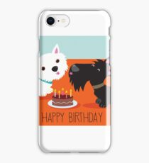 Happy Birthday from the Terriers iPhone Case/Skin