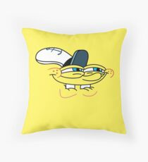 Spongebob Smirk Face Throw Pillow