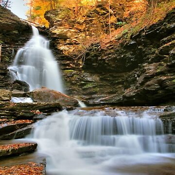 October Evening Below Ozone Falls by ProfAudio