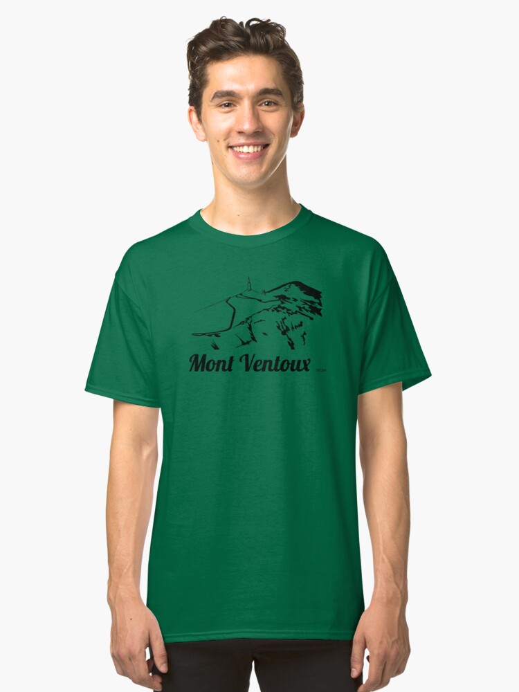 Mont Ventoux 1921m ©BonniePortraits.com Classic T-Shirt Front