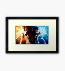 Dynamic Duo Framed Print