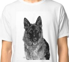 German Shepherd Dog Classic T-Shirt