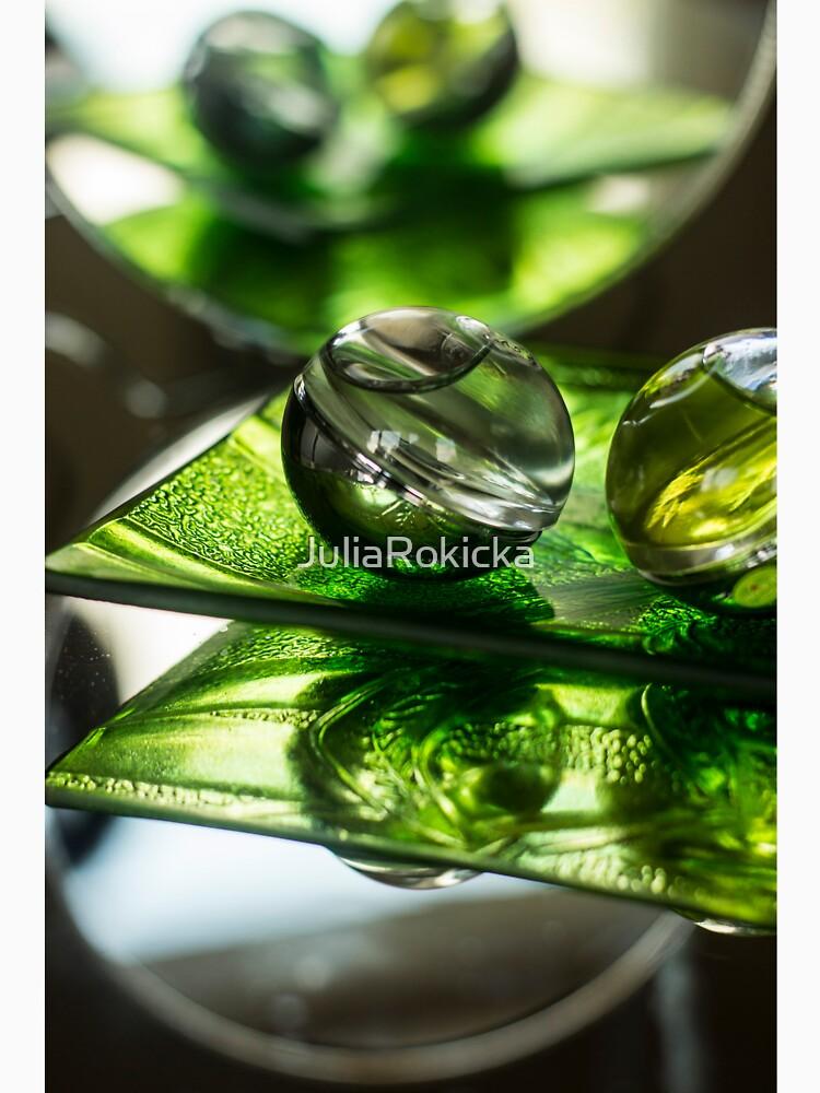 Green Bubble - Macro Photography by JuliaRokicka
