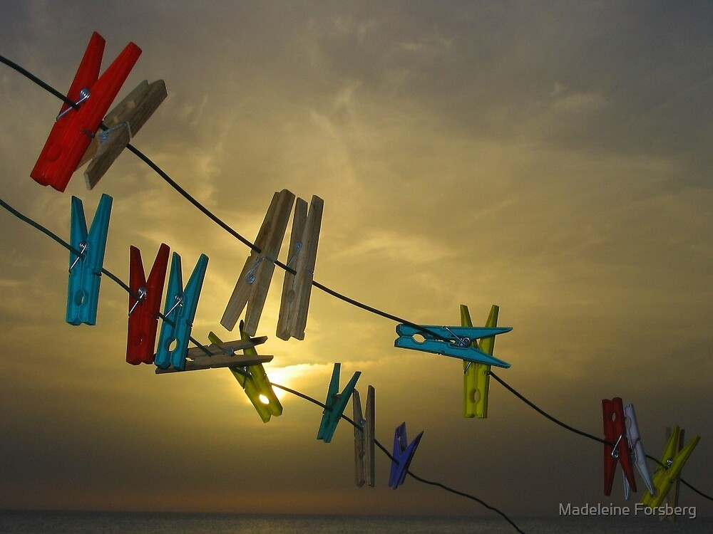 Clothe Pegs by Madeleine Forsberg