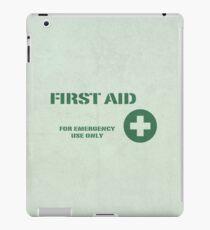 First Aid iPad Case/Skin