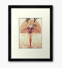 Thoughts-Words-Split-Dust Framed Print