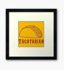 taco cool Framed Print