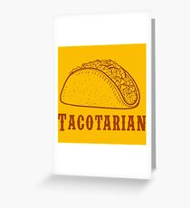 taco cool Greeting Card