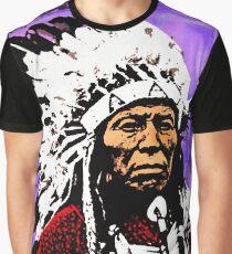 Chief Flying Hawk Graphic T-Shirt