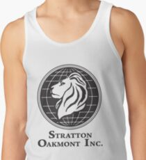 Stratton Oakmont T-Shirt Wolf der Wall Street T-Shirt Jordanien Belfort Ludes T-Shirt Film Kult-Geschenk Martin Scorsese ihn ihr Logo Stock Market Tanktop für Männer