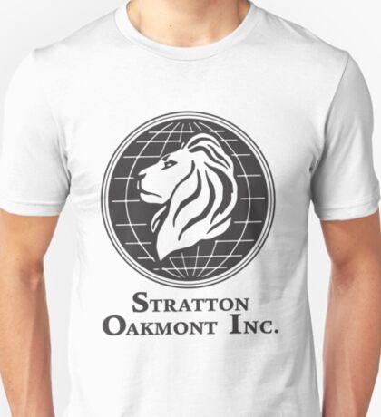 Stratton Oakmont T-Shirt Wolf der Wall Street T-Shirt Jordanien Belfort Ludes T-Shirt Film Kult-Geschenk Martin Scorsese ihn ihr Logo Stock Market T-Shirt
