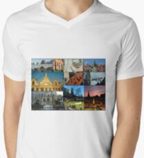 Collage from Belgium 3 - Travel Photography T-Shirt