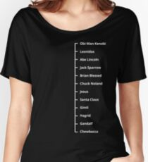 Beard Like T-Shirt | Famous Facial Hair Tee | Mens Beard Measuring Tshirt Women's Relaxed Fit T-Shirt