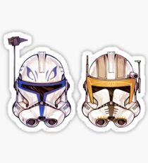 Rex + Cody two-pack Sticker