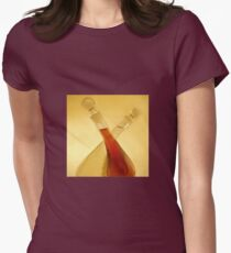 Oil and Vinegar - Impressions Womens Fitted T-Shirt