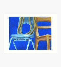 Three Chairs Art Print