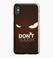 Cover Don't Touch  iPhone Case/Skin