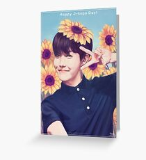 Happy J-hope Day!  Greeting Card