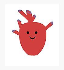 Happy Heart :) Photographic Print